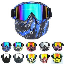 Safety Face Shield Goggles Removable Filter Glasses Lab Work