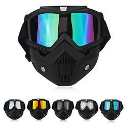 Safety Face Shield Mask Goggles Kits Detachable Lab Work Eye