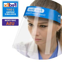 Safety Full Face Shield Clear Guard Protector Anti-Fog Mask