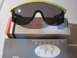 """UVEX SAFETY GLASSES  PAIR""""YELLOW-BLACK"""" ADJUSTABLE FRAMES """"F"""
