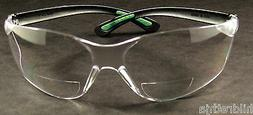 Safety Glasses Bi Focal 1.5 Diopter Cat Eye Style FastCap SG