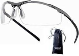 Bollé - Bolle Safety Glasses Contour Clear - Metal Frame #4