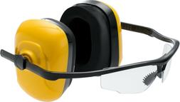 Shooting Range Safety Glasses Clear  Eye Protection Hearing
