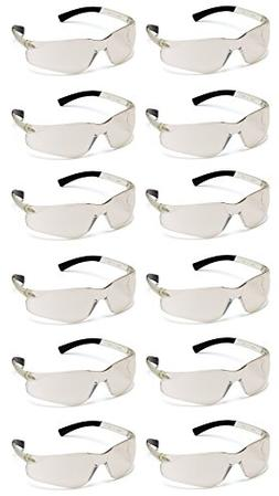 Safety Glasses,Clr/ I/O Mirror