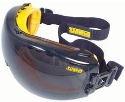 DeWalt Safety Glasses Goggles Concealer Smoke AF Lens