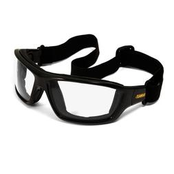 SAFETY GLASSES GOGGLES DEWALT CONVERTER SAFETY GOGGLE CLEAR