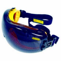 RADIANS SAFETY GLASSES GOGGLES DEWALT CONCEALER SMOKE DPG82-