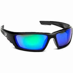 Venture Gear Brevard Safety Glasses with Green Mirror Anti-F