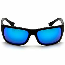Venture Gear Vallejo Safety Glasses with Blue Mirror Anti-Fo