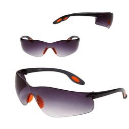 Safety Glasses Outdoor Tinted Unisex Comfort Fit Arms Impact