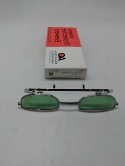 American Optical Safety Glasses vintage clip on lift front 1