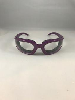Safety Glasses With Foam Cushion No Fog Purple, Eye Protecti