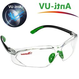 Safeyear Safety Glasses Work Goggles Lab Anti Fog UV Lens St