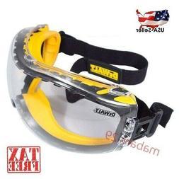 Safety Goggle DEWALT DPG82 CONCEALER CLEAR Anti-Fog Lens