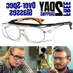 Safety Goggle Over Prescription Glasses Adjustable Protectiv