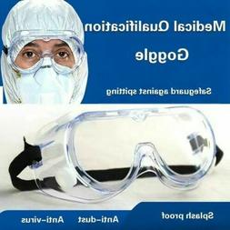 Safety Goggles Eye Chemical Face Protection Glasses in USA F
