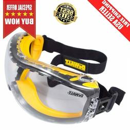 Dewalt Safety Goggles Eye Protective Over Glasses Concealer
