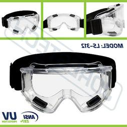 Safety Goggles Glasses Anti Fog Scratch Resistant UV Protect