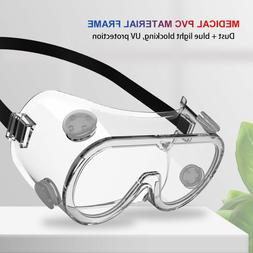 Safety Goggles Over Glasses Hospital Lab Spray Splash Soft P