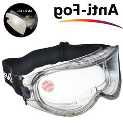 SAFEYEAR Safety Goggles Over Glasses Lab Anti-scratch Seal E