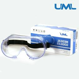 US Safety Goggles Over Glasses Lab Work Eye Protective Eyewe