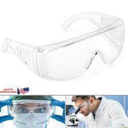 safety goggles over glasses lab work eye
