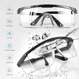 Safety Goggles Over Glasses Lab Work Eye Protective Eyewear