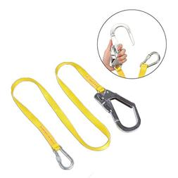 Safety Lanyard , JELEGANT Outdoor Climbing Harness Belt Lany