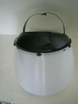 Jackson Safety Model K Headgear 14381 and Clear Face Shield
