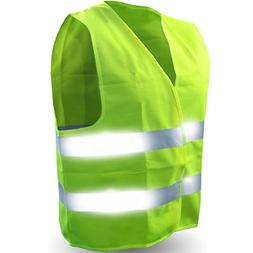 Safety Reflective Vest  Perfect for Running, Jogging, Walkin