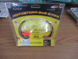Radians Safety Shooting Glasses Yellow Lens Jelli Ear Plugs