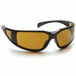 Pyramex SB5133DT Exeter Safety Glasses Black w/ Shooter's A