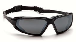 Pyramex SBB5020DT Highlander Safety Glasses Black Frame w/Gr