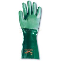 "Ansell Scorpio Chemical Resistant Gloves,14""L, Gauntlet Cuff"