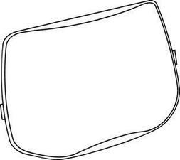 "3M Speedglas 06-0200-52 6"" X 3 7/8"" L Series Scratch Resista"