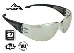 Elvex SG-401-I/O Atom Safety Glasses, One Size, Clear