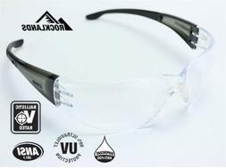 Elvex SG-401C-AF Atom Ballistic Rated Safety Glasses with Ha