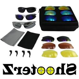 Birdz Eyewear Shooterz Glasses Kit with 3 Frames and 9 Inter