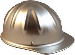 SkullBucket Aluminum Cap Style Hard Hats with Ratchet Suspen