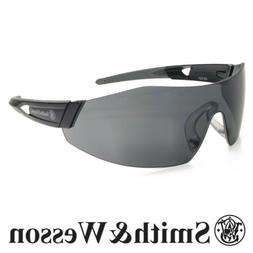 Smith & Wesson 44-Magnum Safety Glasses Black Temples Smoke