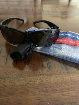 Smith & Wesson Elite Safety Glasses with Black Frame and Smo