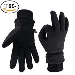 OZERO Snow Gloves -30°F Coldproof Winter Thermal Glove - De