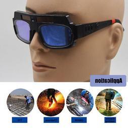 Safety Goggles Auto Darkening Welding Eye Wear Solar Powered