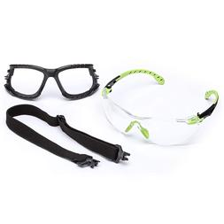 3M Solus 1000 Series Protective Eyewear Kit with Foam, Strap