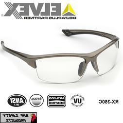 ELVEX SONOMA RX-350C BIFOCAL READER SAFETY GLASSES CLEAR ANT