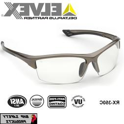 ELVEX SONOMA RX-350C BIFOCAL READER SAFETY GLASSES CLEAR ANT