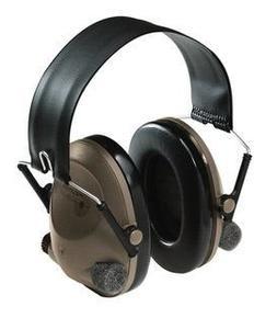 3M Peltor Soundtrap Slimline Electronic Headset Olive Green