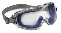 Uvex Stealth Clear Navy Polycarbonate Standard Safety Goggle