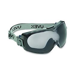 Uvex Stealth OTG Safety Goggles with Anti-Fog/Anti-Scratch C