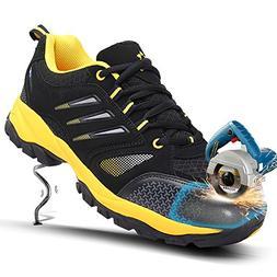 unisex steel toe cap shoes industrial&construction shoes pun